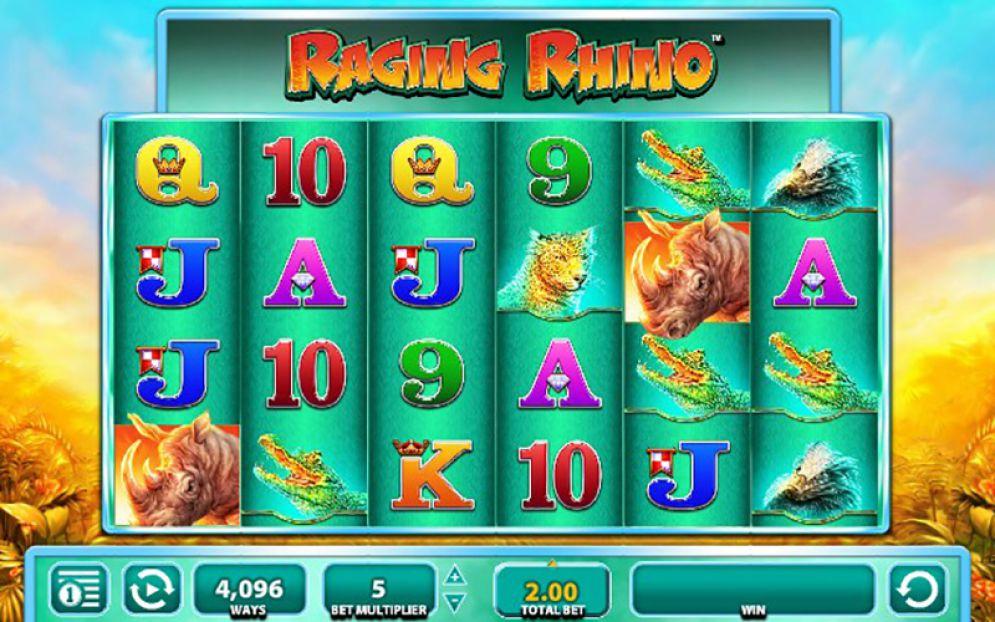 Raging Rhino Slot  ออนไลน์